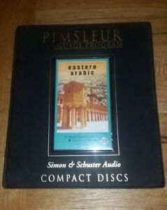 Pimsleur Language Programs, Eastern Arabic, 16-CD set, 30 lessons