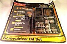 CRAFTSMAN Professional 35 Piece Screwdriver Bit Set #925597 No Slip Tip W/ Case