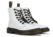 Dr. Martens Women's Luana White Combat Boots Size 8 M 14873*
