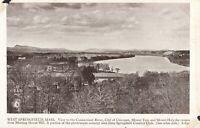 Postcard West Springfield Massachusetts