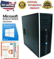 HP Compaq Elite 8300 MT i5-3470 3.2GHz Computer Desktop Pc 1 year Warranty
