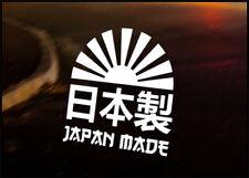 Kanji Hecho Japón coche Vinilo Jdm calcomanía vehículo Bicicleta Gráfico calcomanía Funny