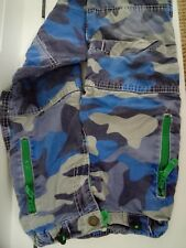 Boden Cargo Trousers age 5 blue camo fabric lined pants