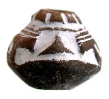 Präkolumbianische Terracotta Rollsiegel - Perle der Mantena-Kultur Ecuador  2593