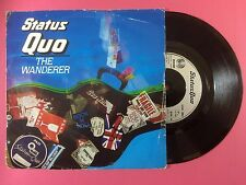 Status Quo - The Wanderer / Can't Be Done, Vertigo QUO-16 Ex Condition A1/B1