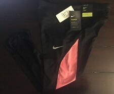 Women's Nike Power Sprinter Running Tights Crop Length Tight Fit Med 884014 $55