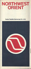Northwest Orient Airlines system timetable 4/29/79 [0098]