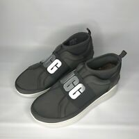 UGG NEUTRA CHARCOAL SNEAKER LEATHER CASUAL WOMEN'S SNEAKERS SIZE 7 NIB