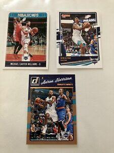 Lot De 3 NBA Panini Charlotte Hornets