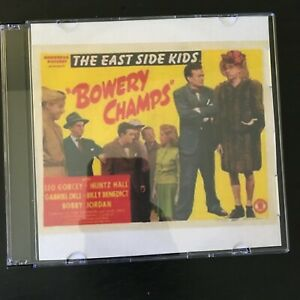 BOWERY CHAMPS East Side Kids Dead End Kids DVD 1944