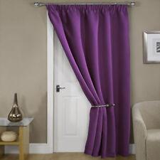 Rideaux et cantonnières panneaux violets modernes pour la maison