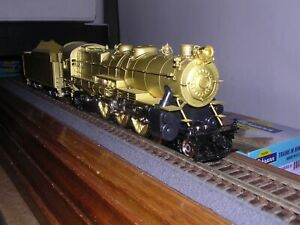 BRASS Sunset Pennsylvania Early K-4 4-6-2 Steam Loco Unpainted H.O.1/87
