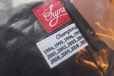 NEW IN BAG SS14 SUPREME CHAMPIONSHIP YEARS FOOTBALL TOP JERSEY BLACK SMALL 2014