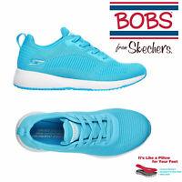 Skechers Womens Bobs Squad Neon Glowrider Memory Foam Matte Finish Trainers