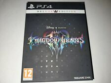 KINGDOM OF HEARTS III 3 DELUXE ORIGINAL UK PS4 GAME BRAND NEW SEALED