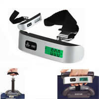 New Digital LCD Electronic Hand Held Luggage Balance Scale Hook Weight 50kg/10g