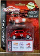 Majorette VW Beetle Surfing Voiture Miniature - Rouge
