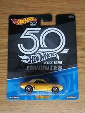 Hot Wheels 50th Favorites '69 Camaro #9 of 10