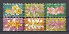 Papua New Guinea 2005 Sc#1170-5  Frangipani Varieties  MNH Set $10.50
