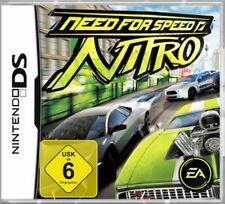 NINTENDO DS 3DS NEED FOR SPEED NITRO DEUTSCH Top Zustand