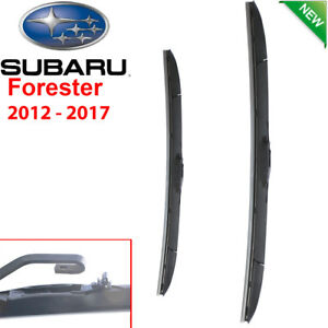 Wndshield Windscreen Wiper blades for Subaru Forester S4 2012-2017 Pair Front