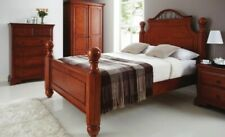 Double Crowther Solid Wooden Heirloom Bed LOCAL DELIVERY Asembly Option