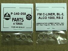 P-140-058 TRACTION TIRE FACTORY ORIGINAL PARTS, AHM & RIVAROSSI HO SCALE TRAINS