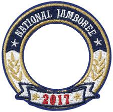 2017 Boy Scout Jamboree Uniform World Crest Emblem Patch Badge BSA Merit Award