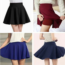 Women Tutu Skirt Fashion Basic Short Skirts Underskirt Pleated Skirt Ball Gown F