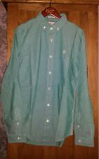 Mens Original Penguin Heritage Slimfit Long Sleeve button down shirt Size S NEW