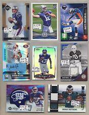 Serial Numbered Tom Brady Lot Original Football Cards