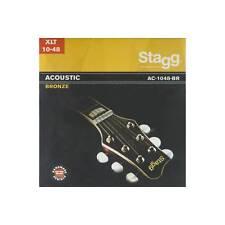 Bronze Jeu de cordes pour Guitare Acoustique - Extra Light Stagg