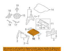 HYUNDAI OEM 11-13 Sonata Trunk-Rear Body & Floor-Spare Cover 857013Q000RY