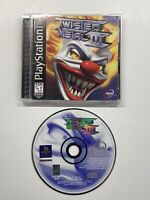 Twisted Metal III 3 PlayStation 1 PS1 Complete Black Label
