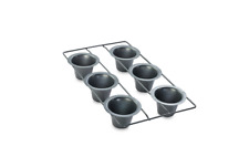 Chicago Metallic™ Professional 6-Cup Popover Pan with Armor-Glide Coating