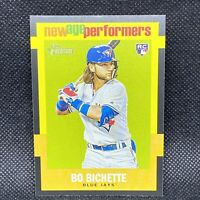 2020 TOPPS HERITAGE BO BICHETTE RC NEW AGE PERFORMER ROOKIE BLUE JAYS ROOKIE #15