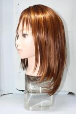 Magic Touch Long Wig w/ Bangs Hair 100%Toyokalon Frosted Syrup Dark Orange Gold
