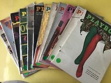 Playboy Magazine 1958. Pick The Month U Want. High Quality Collectable Issues.