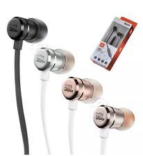 Genuine JBL T290 Sound Pure Bass In Ear Earphones Headphones with Mic 4 Colors