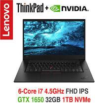 ThinkPad X1 Extreme Gen 2  i7-9750H 4.5GHz FHD IPS 32GB 1T 3Y OS+ADP Warranty