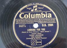 78rpm TEDDY JOHNSON longing for you / rosaline
