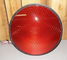 "Dialight LED Traffic Light 12"" Red 433-1210-003"