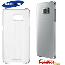 Custodia CLEAR COVER Originale Samsung X Galaxy S7 Edge G935F Trasparente SILVER