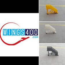 1:400 AIRPORT ACCESSORIES/GSE PASSENGER STAIRS (X6) MEDIUM BY WINGS400
