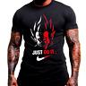 Vegeta Just Do It Men Black T Shirt