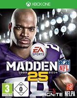 XBOX ONE Spiel Madden NFL 25 American Football Neu&OVP