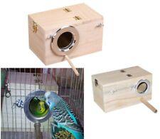 S/M Shellhard Wooden Nest Pet Parrot Budgies Parakeet Nesting Box Bird Supplies