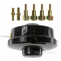 Dual Bump Feed Head Base Strimmer Line for MCCULLOCH Petrol Brush Cutter Trimmer