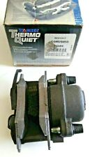 Disc Brake Caliper-ThermoQuiet Loaded Caliper with Pads Front Left TQM25050