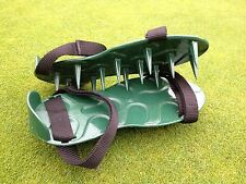 Lawn Spike Aerator Shoes/Sandals.British designed & manufactured / max. aeration